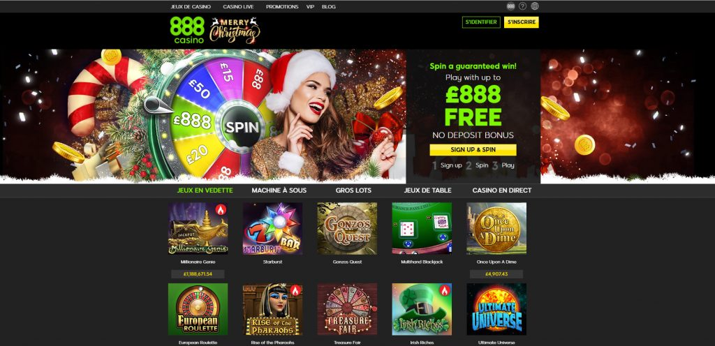 casino en ligne 888