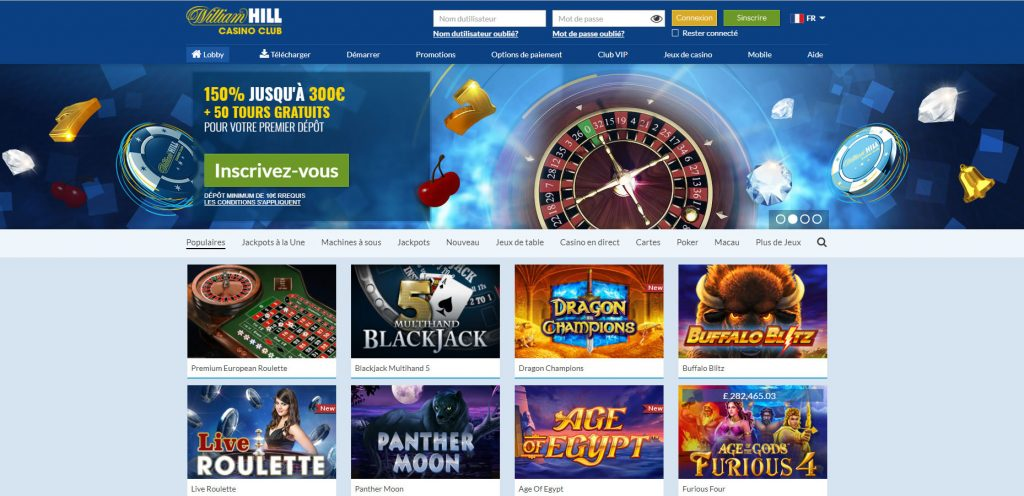 William Hill Casino FR